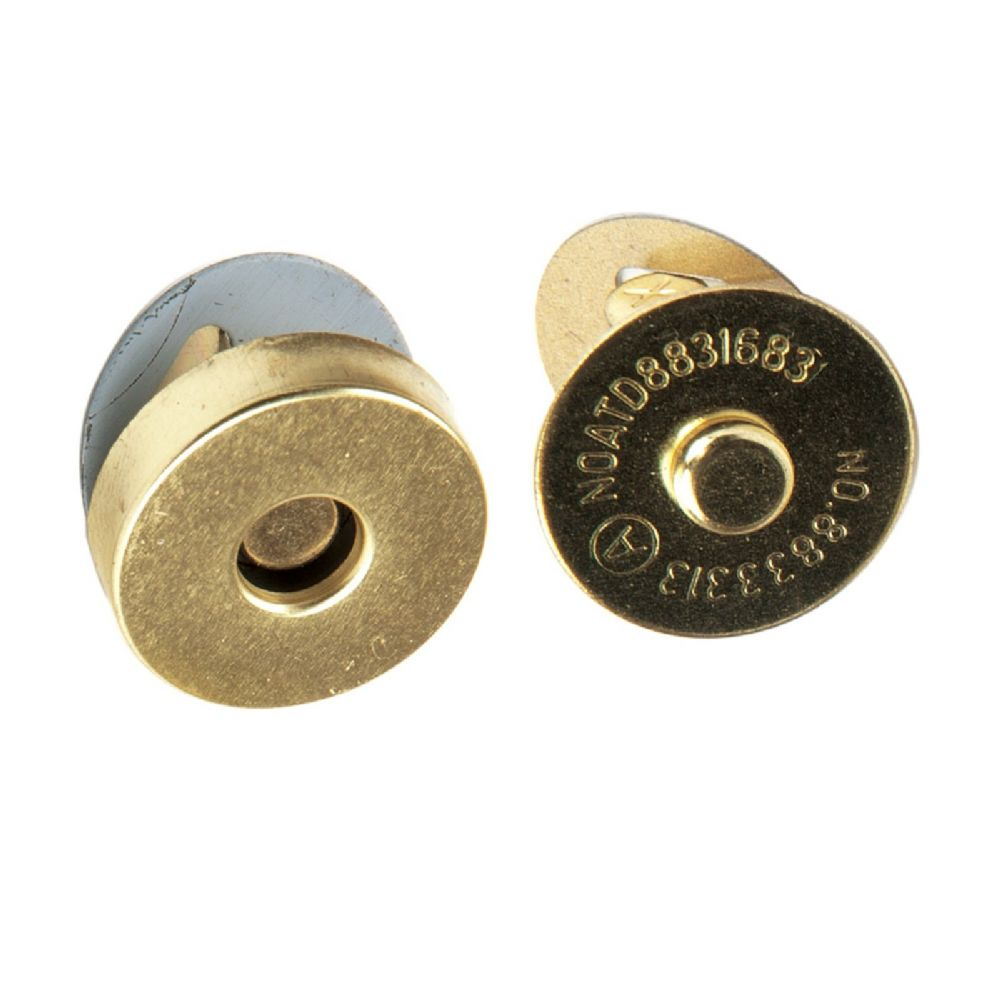 Magnetic Bag Clasp - 18mm Gold